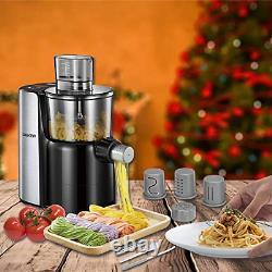 Geker Pasta Make Pasta Maker Machine Machine Machine Automatique De Fabricant De Nouilles Électriques, 9