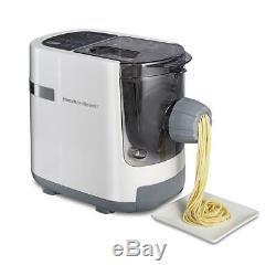 Hamilton Beach Automatique Maker Pasta Machine À Noodles Électrique Blanc 7 Types De Presse