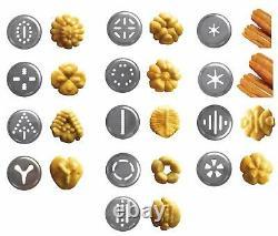 Ibili Churro Maker Machine Pour Pâtes Et Biscuits Décore Aluminium