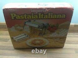 Imperia Fresh Pasta Maker Lasagne Roller Machine Made In Italy Utilisé Une Fois