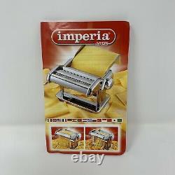 Imperia Italian Pasta Maker Machine Italiana Ensemble Cadeau