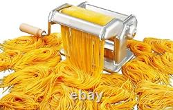 Imperia Pasta Maker Machine Construction En Acier Lourd W Cadran De Verrouillage Facile Et