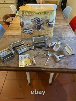 Imperia Pâtes Machine Machine Deluxe Terminé La Fabbrica Della Pâtes Ensemble D'usine