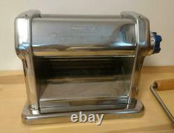 Imperia R220 Pasta Maker Hand Crank Machine W / Coupeur 2mm