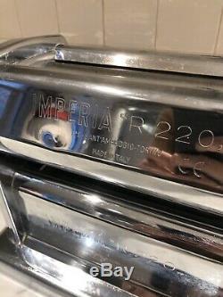 Imperia R220 Restaurant De Qualité Tourner La Main Machine Pâtes