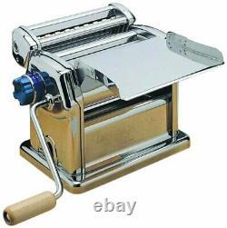 Imperia Rmn 220 Machine Italienne Manuelle De Fabrication De Pâtes Roller Dough Pour L'utilisation Pro