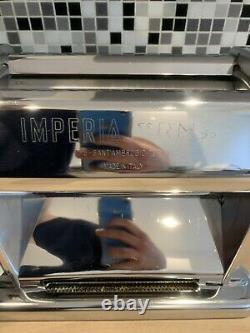 Imperia Rmn 220 Manuelle Restaurant Italien Pasta Roller Machine