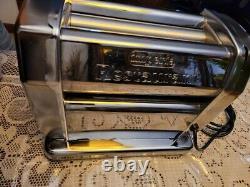 Imperia Rmn Electric Pasta Maker Machine Roller Sheeter 120v Avec Fixation