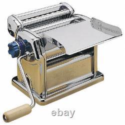 Imperia Stainless Steel Manual Pasta Maker Machine Imperia R220 073175