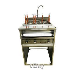Intbuying Desktop 6 Trous Noodles Cuisinière Machine 220 V 30a 6kw