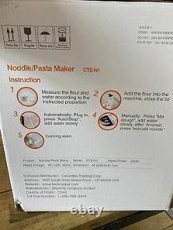 Joyoung Machine À Nouilles Maison Ramen Pasta Maker Cts-n1
