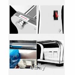 Machine À Pâtes Électrique Noodle Maker Machine À Rouleau 6 Épaisseur Réglage 2 Cutters