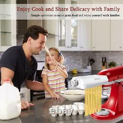 Machine À Pâtes Pour Mélangeur De Support D'aide À La Cuisine, Cofun 3 En 1 Machine À Pâtes Comme