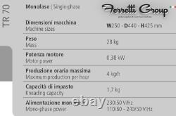 Machine À Pâtes Tr70 Inox Fabriqué En Italie