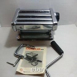 Machine À Rouleaux Vintage Domus Pasta Maker Duty Heavy Made In Italy Clay Sculpy