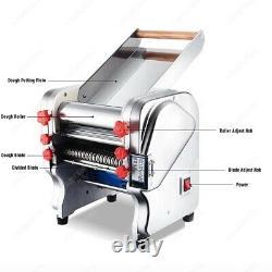 Machine De Fabricant De Nouilles De Pâtes Avec Le Rouleau De Pâte Modifiable Et L'électrique De Lame