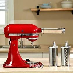 Machine De Fabrication De Pâtes Pour Le Mélangeur D'aide À La Cuisine Avec Rouleau De Pâtes 3 Pièces