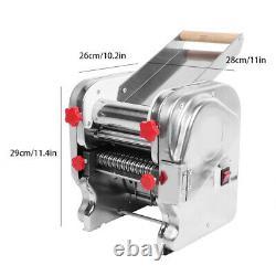 Machine Électrique De Rouleau De Nouilles En Acier Inoxydable De Pasta Maker Pour La Maison Restaura Rh