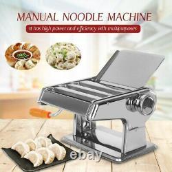 Machine Manuelle De Fabricant De Nouilles 3 Lame Tagliatelle Pasta Maker Cutter M2-8mm Largeur