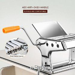 Manuel Maker Machine De Cuisine En Acier Inoxydable Pâtes Lasagne Spaghetti Tagliatelle