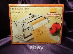 Manuel Marcato Atlas 150mm Deluxe Pasta Machine 1048534 Avec Boîte
