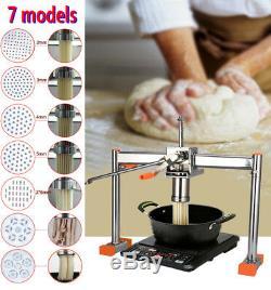 Manuel Pasta Press Maker Noodle Machine Dumpling Double Peau Roulement Sauf Effort