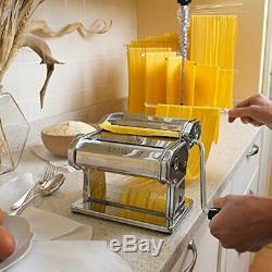 Marcato 8320 Atlas Machine À Pâtes Made In Italy Comprend Des Pâtes Cutter Manivelle