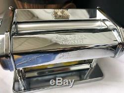 Marcato Atlas 150 Machine À Pâtes Chrome, Bien-être Super Silver Livraison Rapide Au Royaume-uni