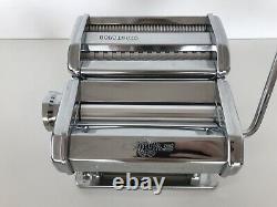 Marcato Atlas 150 Machine À Pâtes Cutter Made In Italy Boxed Jamais Utilisé
