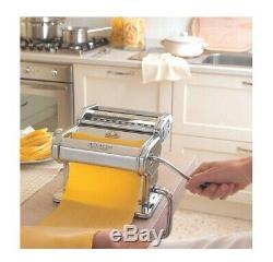 Marcato Atlas 150 Machine À Pâtes En Acier Inoxydable Wellness Spaghetti Nouilles Cutter