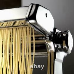 Marcato Atlas 150 Machine À Pâtes Multipasta Grande Avec 4 Pièces Jointes