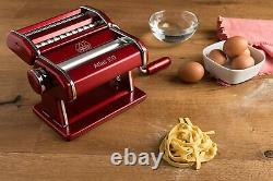 Marcato Atlas 150 Machine, Inclut Cutter De Pâtes, Crane À Main, Boîte Ouverte Nouveau