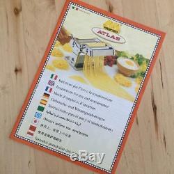 Marcato Atlas 150 Multi Pâtes Coffret Machine Spaghetti Made In Italy
