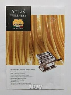 Marcato Atlas 150 Pasta Machine Classic Edition All Stainless Slightly Used