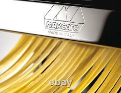 Marcato Atlas 150 Pasta Machine, Fabriqué En Italie, Comprend Coupeur, Manivelle À Main, Et