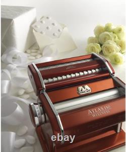 Marcato Atlas Made In Italy Pasta Machine, Fabriqué En Italie, Bleu Clair, Comprend P