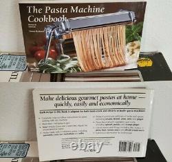 Marcato Atlas Motor Machine Et Pâtes En Excellent État Avec Un Livre De Pâtes Bonus