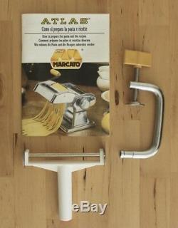 Marcato Atlas Multipast 5 Pasta Maker Machine Lasagne Ravioli Spaghetti