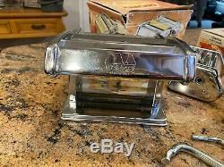 Marcato Atlas No 150 Pasta Maker Nouilles Machine Ravioli Cutter Cutter Spaghetti