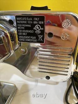 Marcato Atlas Pasta Machine Avec Moteur Électrique Utilisé