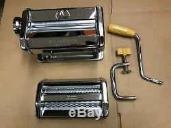 Marcato Atlas Wellness Pasta Maker Machine De La / De, La Deuxième Partie, Sans Moteur. Fabriqué En Italie