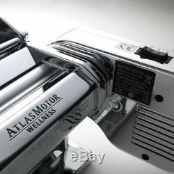 Marcato Atlasmotor Machine Pour Faire Des Pâtes. Con 3 Inclus Rouleaux Moteur 100 W
