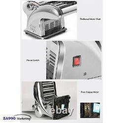 Mini Électrique Pâte Commerciale Laminoir Nouilles Pâtes Ravioli Maker Machine