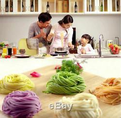 New Electric Auto Noodle Maker Pâte Mixer Spaghetti Pasta Ravioli Machine 220 V