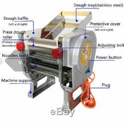 New Electric Machine À Pâtes Maker Machine De Presse De Nouilles Produisant 220 V-175 Dmt