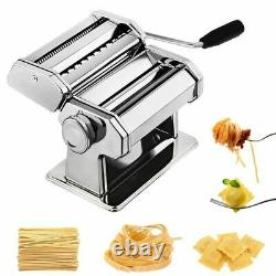 Noodle Pasta Maker Acier Inoxydable Nude Ln Machine Lasagne Spaghetti Tagliatelle