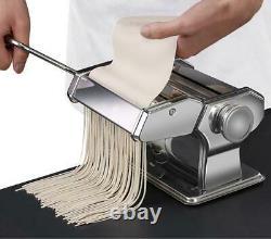 Nouilles Pasta Maker Stainless Steel Nudeln Machine Lasagne Spaghetti Tagliatelle