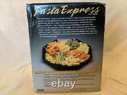 Nouvelle Machine À Pâtes Électriques Pasta Express X2000 Inutilisée Par La Cct Dans La Boîte Ouverte 7 Dies
