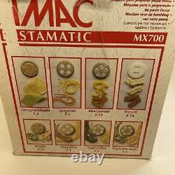 Nouvelle Rare Simac Pastamatic MX 700 Automatic Electric Pasta Maker Machine Italienne