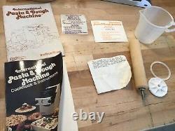 Osrow Internationale Pâtes Et Pâte À Modeler Machine Maker Préparateurs D'aliments Withbox Et Accessoires